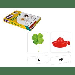 """Láminas de Aprendizaje """"Grupos Consonánticos con R"""" Dactic"""