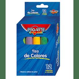 Tiza 12 Colores Proarte