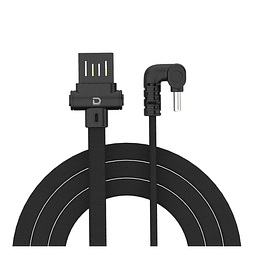 Cable Type-C 2.4A Negro Datacom