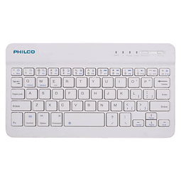 Mini Teclado Inalámbrico B-1001 Blanco Philco
