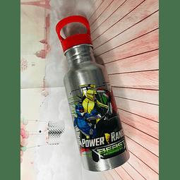 Botella Alumio 600Ml Power Rangers