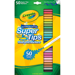 Super Tips 50 colores Crayola