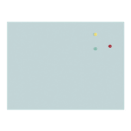 Pizarra de Vidrio 45x60 Blanca  Artel