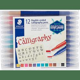 Set Calligrafhy 12 Colores Staedtler