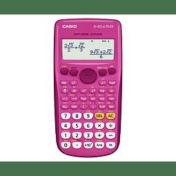 Calculadora Cientifica Casio Fx-82LA Plus Rosada