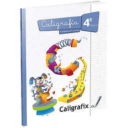 Caligrafia 4to. Basico Cuadricula 5mm Caligrafix