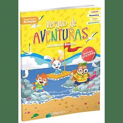 Verano De Aventuras Kinder Caligrafix