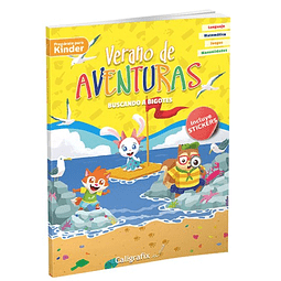 """Verano de Aventuras """"Buscando a Bigotes"""" Caligrafix"""