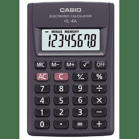 Calculadora Escritorio Casio Hl-4a