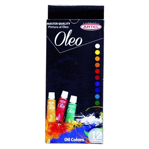 Set Óleo 12 Colores Artel