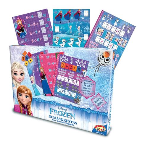 Puzzle Suma Resta Frozen
