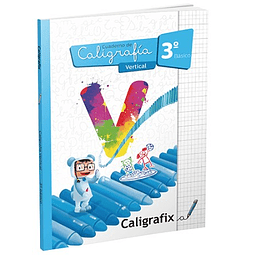 Caligrafia 3ro. Basico Vertical Caligrafix