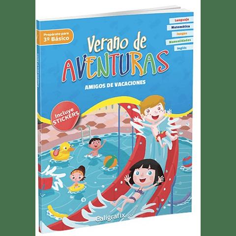 """Verano de Aventuras """"Amigos de Vacaciones"""" Caligrafix"""
