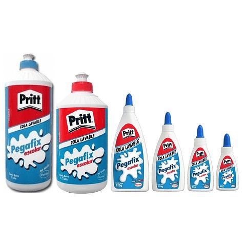 Cola Fria Variedades Pritt Pegafix Escolar
