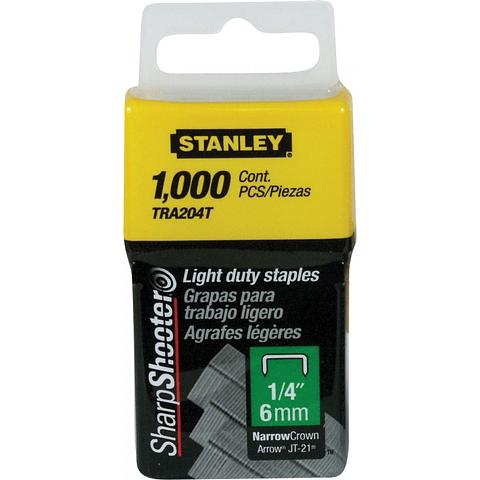 Grapas Stanley Tra204t 1/4 6mm