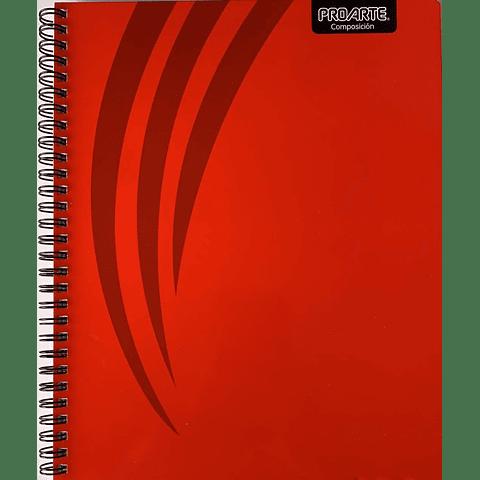 Cuaderno Universitario Composición Líneas 100hjs Proarte
