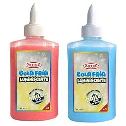 Cola Fria Luminiscente Colores 147 Grs. Artel