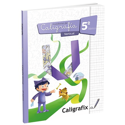 Caligrafia 5to. Basico Vertical Caligrafix