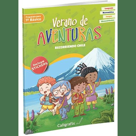 """Verano de Aventuras """"Recorriendo Chile"""" Caligrafix"""