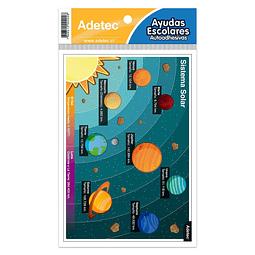 Etiqueta Sistema Solar Autoadhesiva Adetec