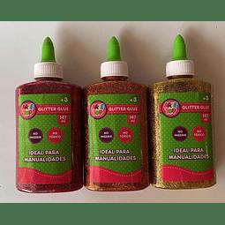 Glitter Glue 147ml Colores Arte Top
