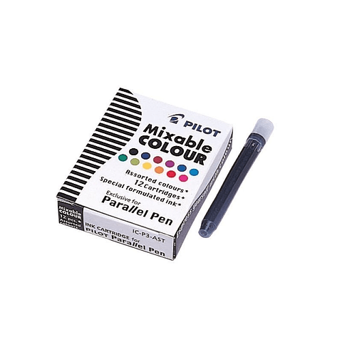 Tinta Surtidas Para Bolígrafo Parallel Pilot