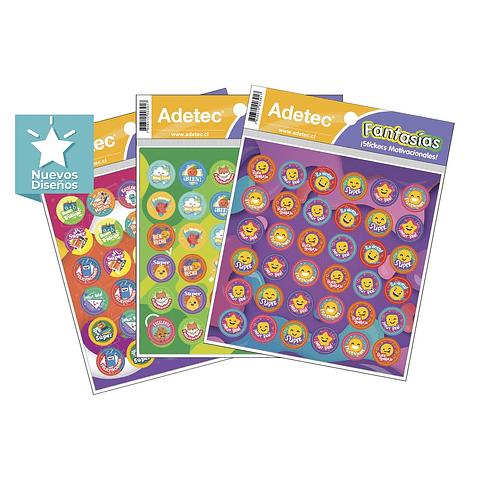 Sticker Motivacionales Diseño Incentivo 2hjs Adetec