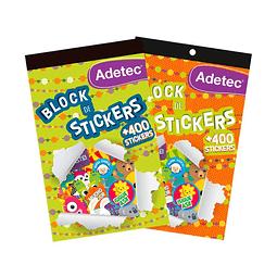 Block Stickers Motivacionales Adetec