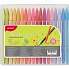 Plus Pen 3000 36 Colores Monami