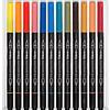 Brush Pen Aqua Brush Duo 24 Colores Lyra