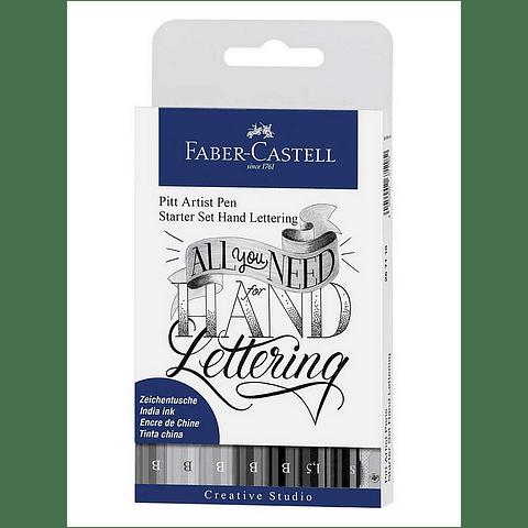 Set Artist Pen Startet Hand Lettering