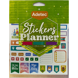 Block de Stickers Planner Travel Adetec