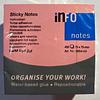 Notas Adhesivas 75x75 400 hojas InfoNotes