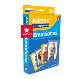 "Láminas de Aprendizaje ""Emociones"" Adetec"