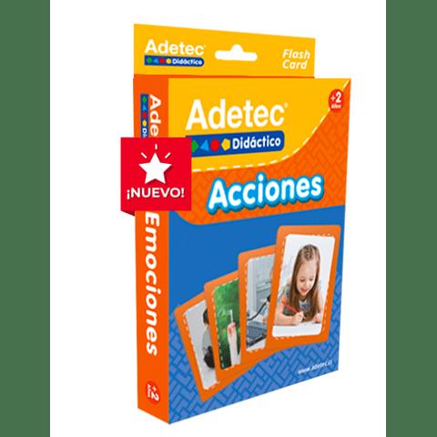 """Lámina de aprendizaje """"Acciones"""" - Adetec"""