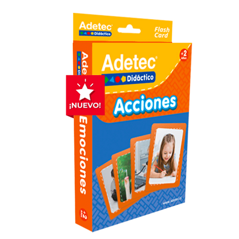 "Láminas de Aprendizaje ""Acciones"" Adetec"
