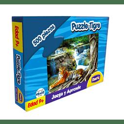 Puzzle tigre 500 piezas - Dactic