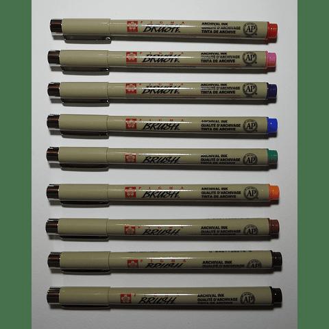 Brush Pen Pigma Sakura
