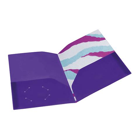 Carpeta A4 holográfica y plastificada Sirena