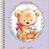 Cuaderno Class Love Bear Tilibra