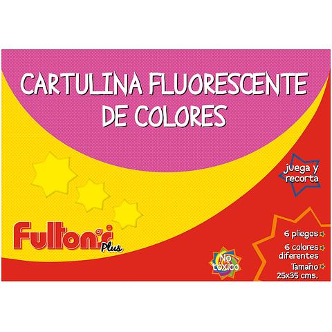 Sobre Cartulina Fluorescente Fultons