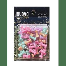Push Pins Pastel Nuovo