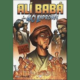 Ali Baba Y Los 40 Ladrones - Novela Grafica-