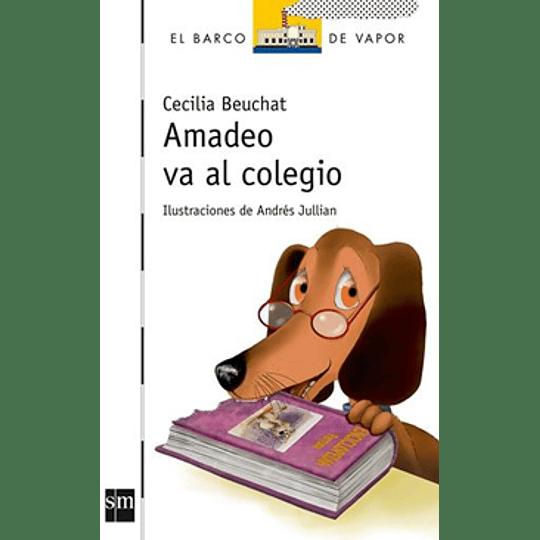Amadeo Va Al Colegio (Blanco)