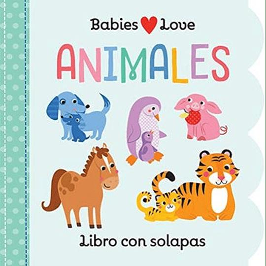 Animales - Libro Con Solapas