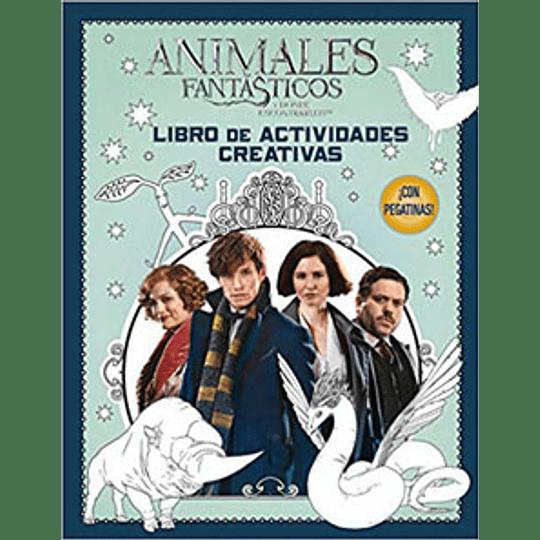 Animales Fantasticos Libro De Actividades Creativas