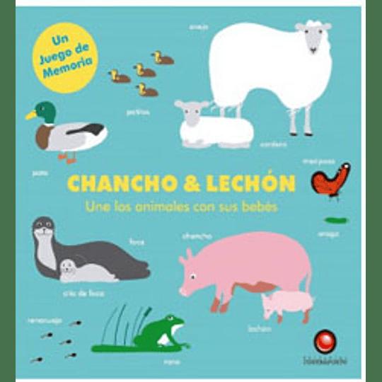 Chancho Y Lechon Une Los Animales Con Sus Bebes