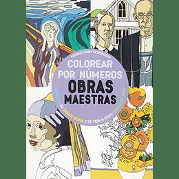 Colorea Por Numeros. Obras Maestras