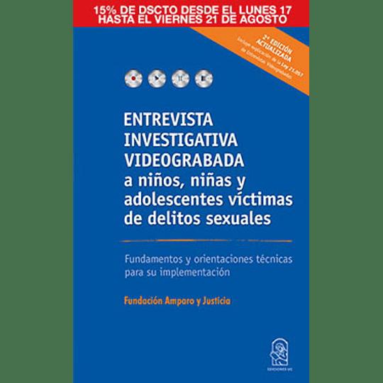 Entrevista Investigativa Videograbada A Niños Y Adolescentes Victimas De Delitos Sexuales