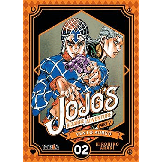 Jojos Bizarre Adventure Part 5 - Vento Aureo 02